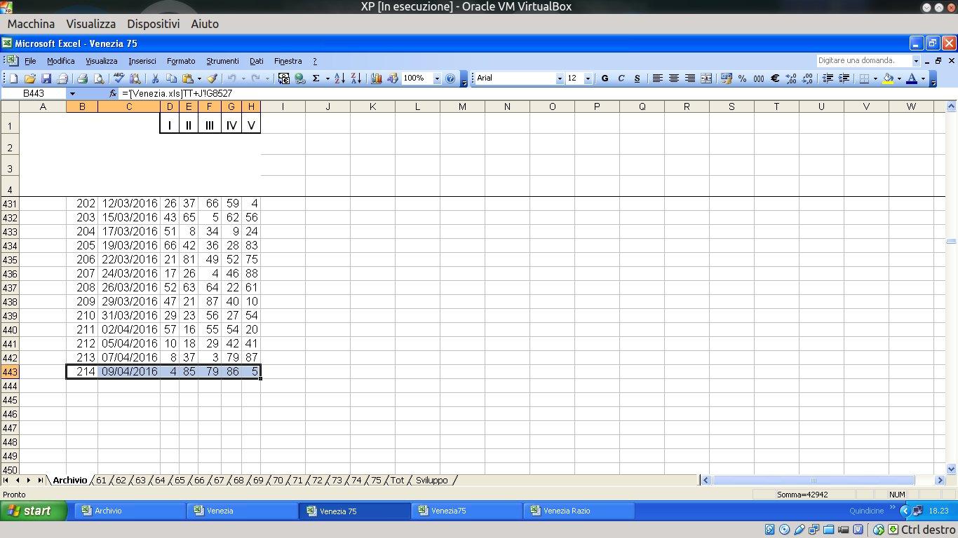 Lottery Prediction Spreadsheet
