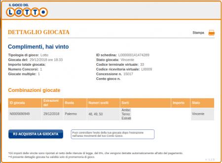 Bari Napoli Palermo Analisi Fibonacci 2/1/19
