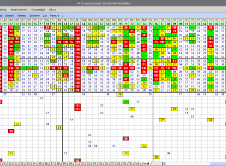Tabelle probabilistiche delle 11 ruote e SiVinceTutto